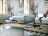 Lucis portable lamp zebrano tripod