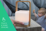 High Power Lucis ™ 2.0 Bamboo Portable Lamp_