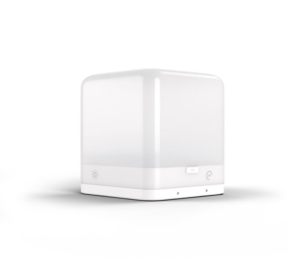 Lucis Wireless Personal Mood lamp abs glacier white