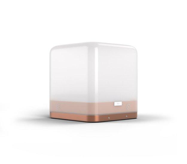 Lucis Wireless Personal Mood lamp aluminium copper